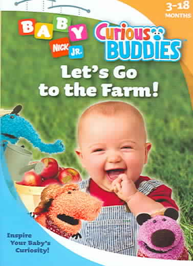 CURIOUS BUDDIES:LET'S GO TO THE FARM BY CURIOUS BUDDIES (DVD)